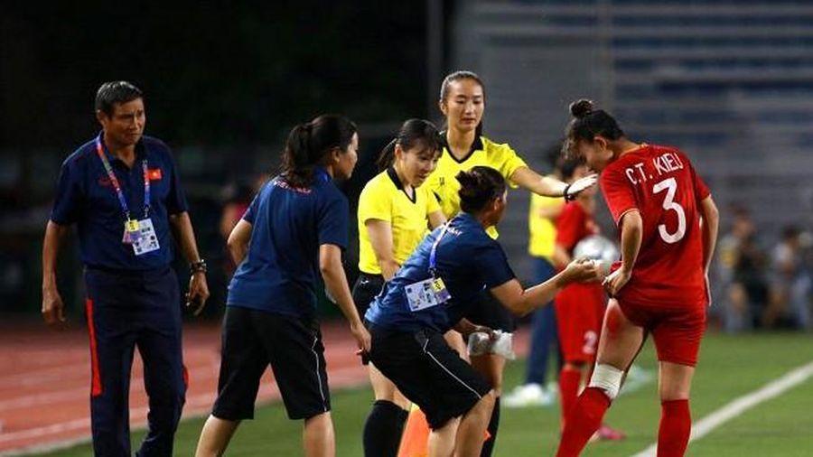 HLV Mai Đức Chung: Tôi rất khâm phục tinh thần thi đấu của các nữ cầu thủ