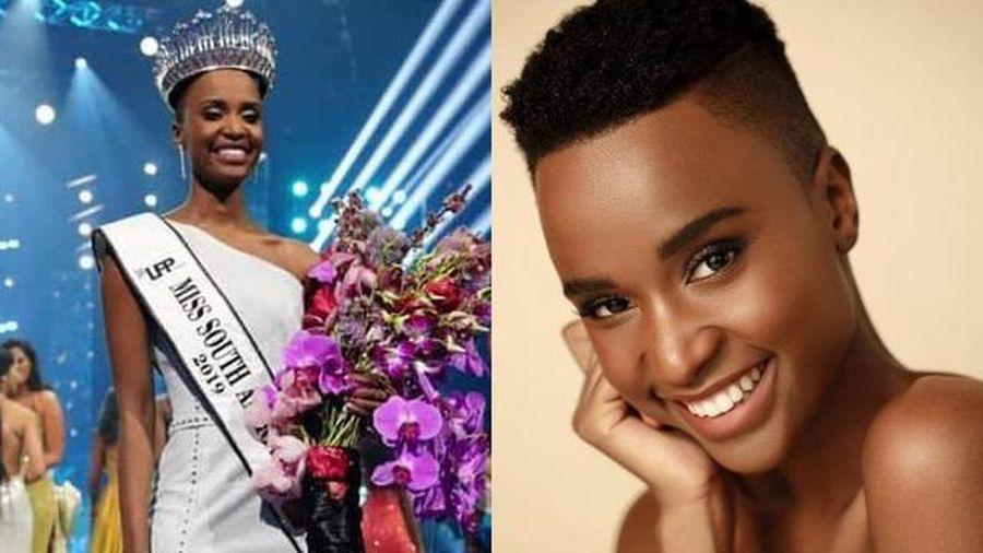 Nhan sắc tân Hoa hậu hoàn vũ 2019 đến từ Nam Phi