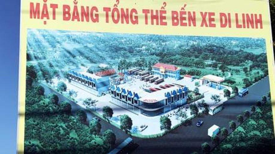 UBND tỉnh Lâm Đồng chỉ đạo tháo dỡ công trình sai phạm tại Bến xe Di Linh