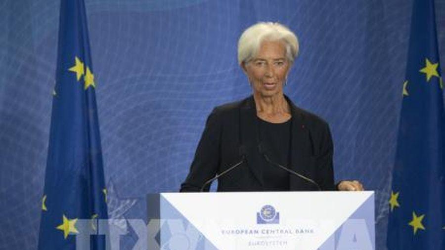 Chủ tịch Lagarde: ECB sẽ đánh giá lại chiến lược hoạt động
