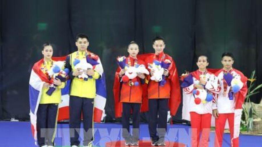 SEA Games 30: Đoàn Thể thao Việt Nam hứng 'mưa vàng'