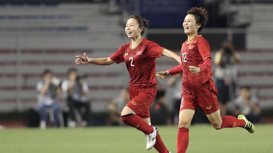 Vô địch SEA Games 30, bóng đá nữ Việt Nam tiếp tục khẳng định vị thế số một khu vực