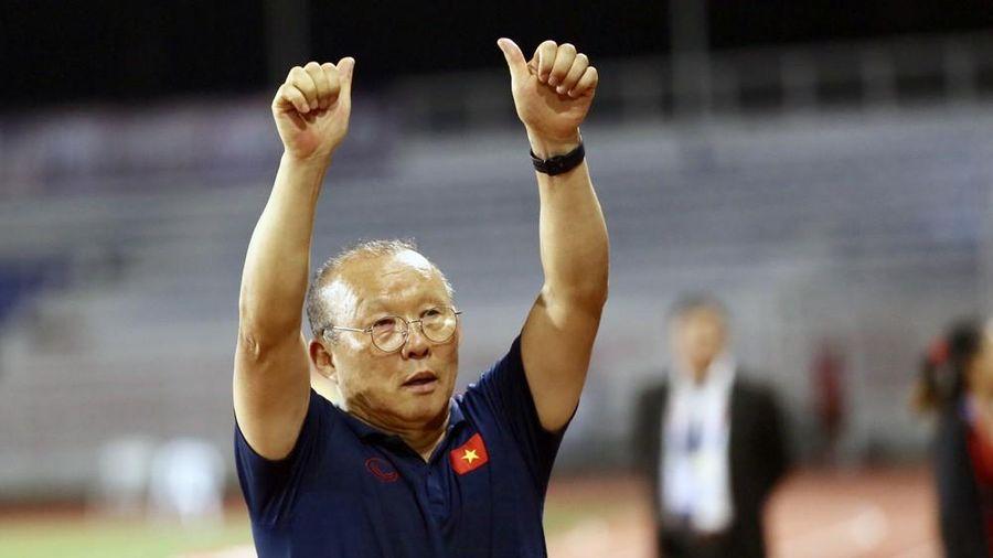 HLV Park Hang-seo mơ hai đội tuyển cùng rước HCV SEA Games về nước