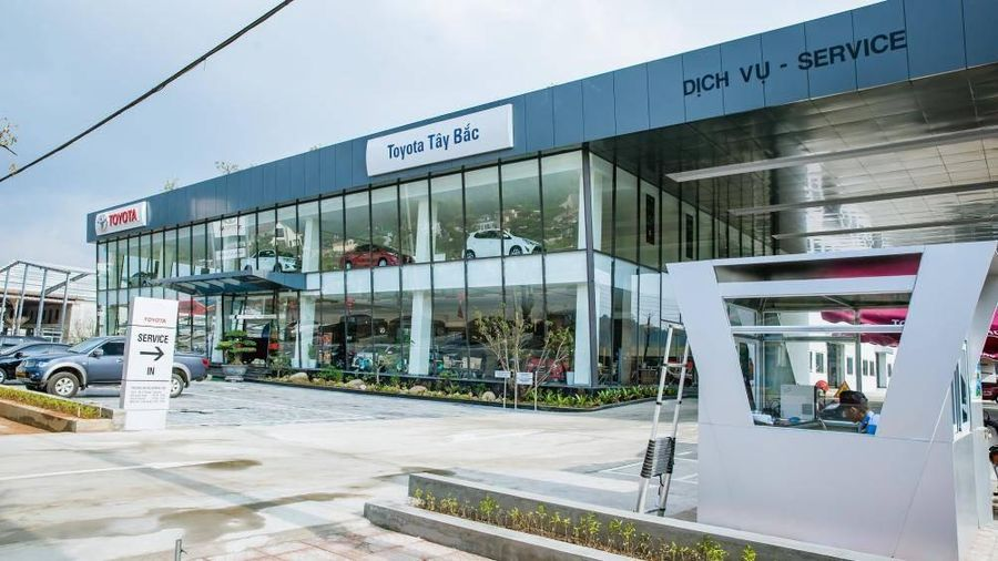 Toyota Việt Nam phủ sóng đại lý tới vùng Tây Bắc