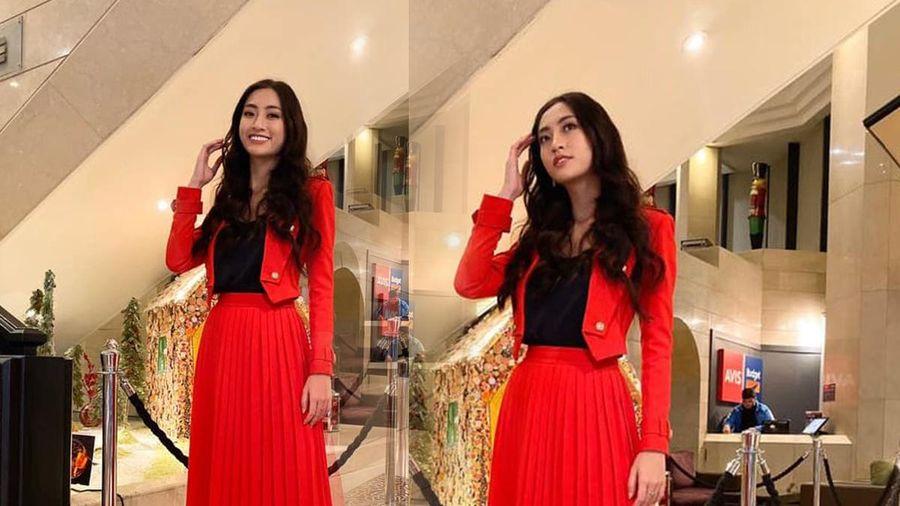 Diện sắc đỏ ở vòng phỏng vấn kín Miss World, Lương Thùy Linh nhận về cái kết ngọt chưa từng có