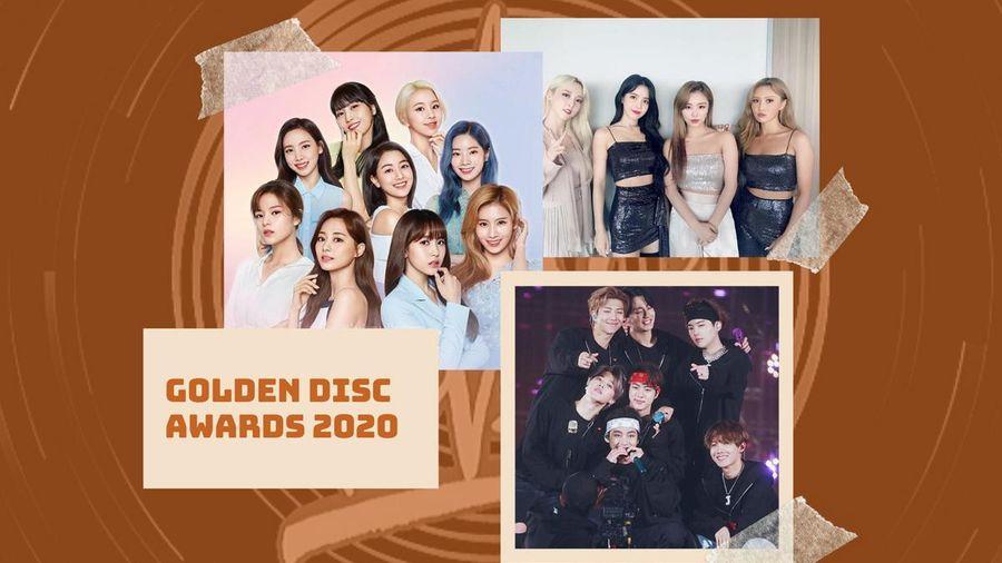 Cập nhật line-up của Golden Disc Awards 2020: BTS, Twice, Mamamoo và những cái tên nổi bật khác