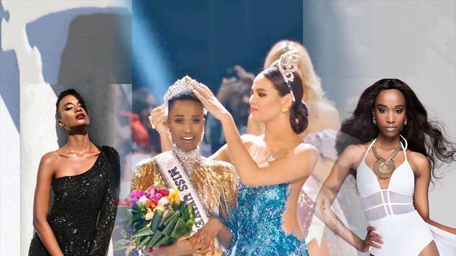Từng bại trận với mái tóc dài, Tân Miss Universe 2019 thay đổi số phận với tóc đầu đinh độc lạ