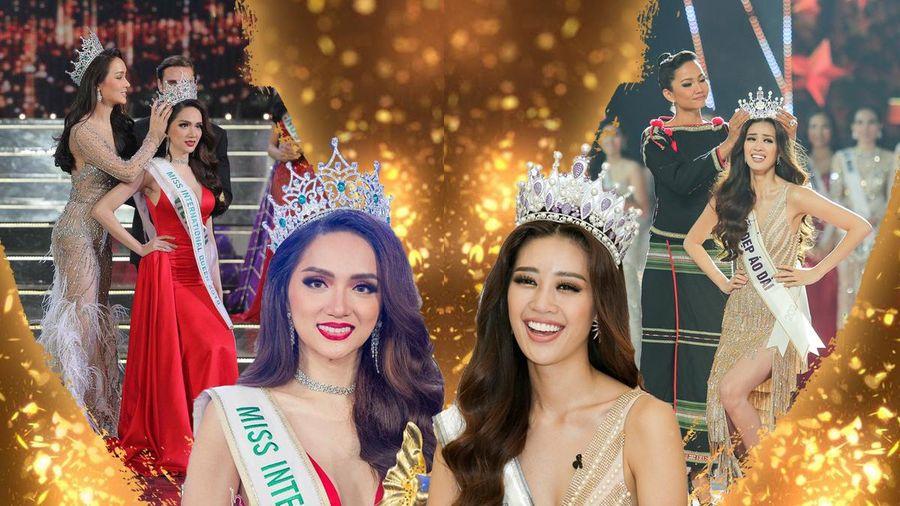 Khánh Vân thi Miss Universe 2020: Team Hương Giang Siêu mẫu Việt Nam 2018 quá thành công!