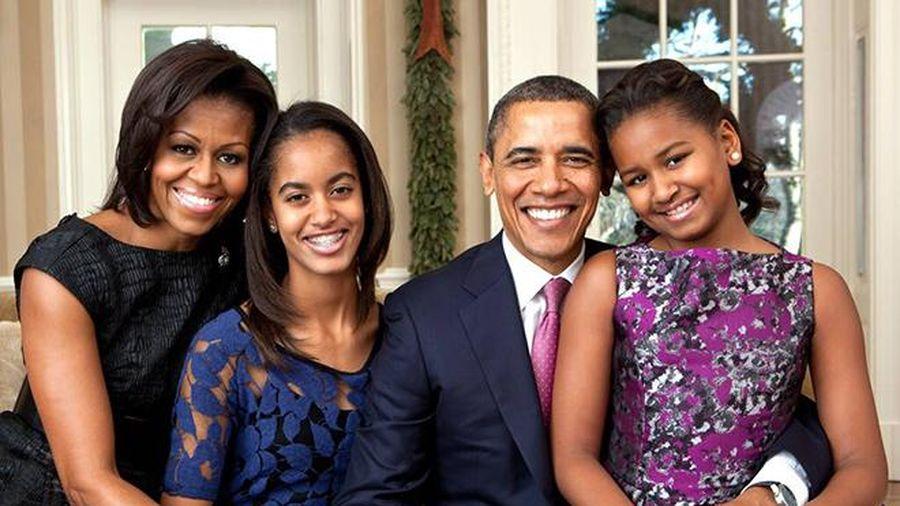 Cách nuôi dậy hai cô con gái đáng ngưỡng mộ của bà Michelle Obama