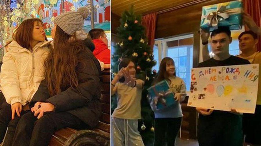 Lâm Tây đưa bạn gái về ra mắt gia đình ở Nga