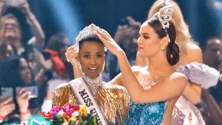 Người đẹp 25 tuổi đến từ Nam Phi với mái tóc ngắn cá tính đăng quang Miss Universe 2019