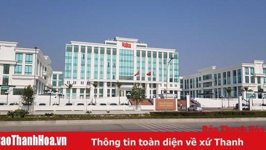 Hôm nay (9-12-2019), Trung tâm hành chính mới TP Thanh Hóa đi vào hoạt động