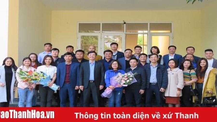Gặp mặt Đoàn đại biểu dự Đại hội đại biểu toàn quốc Hội liên hiệp thanh niên Việt Nam lần thứ VIII