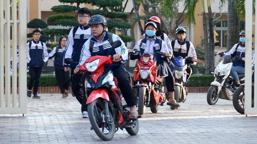 Nguy hiểm xe gắn máy dưới 50cc không bằng lái