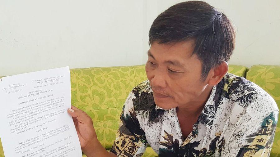 Thượng tá, trưởng công an huyện kêu cứu sau gần 9 năm mất chức