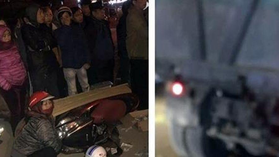 Xe tải 'hổ vồ' va chạm với xe máy, nữ giáo viên tử vong tại chỗ