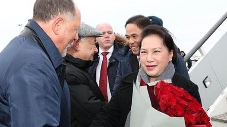 Chủ tịch Quốc hội Nguyễn Thị Kim Ngân bắt đầu thăm chính thức Liên bang Nga