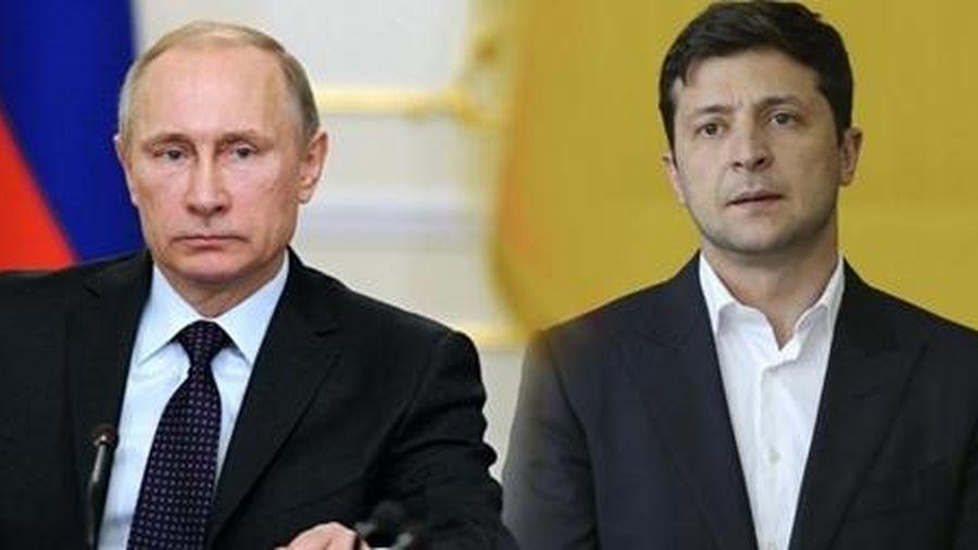 Tổng thống Putin đến Paris gặp mặt lần đầu người đồng cấp Ukraine