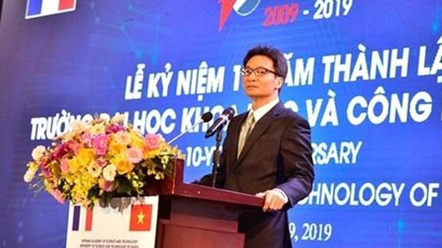 Trường Đại học Việt-Pháp là biểu tượng điển hình trong việc hợp tác giữa 2 nước