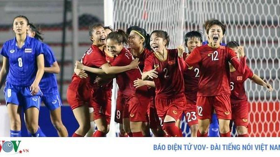 ĐT nữ Việt Nam được thưởng lớn sau khi giành HCV SEA Games 30