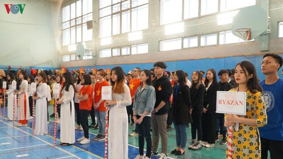 Sôi động cuộc thi 'Đường đến nước Nga' dành cho sinh viên Việt Nam