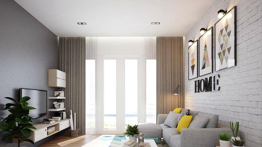 Căn hộ 2 phòng ngủ sở hữu vẻ đẹp tinh tế