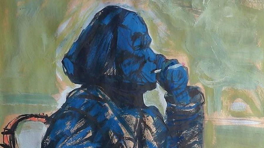 Triển lãm tranh Bột màu của họa sĩ Lương Văn Tiến