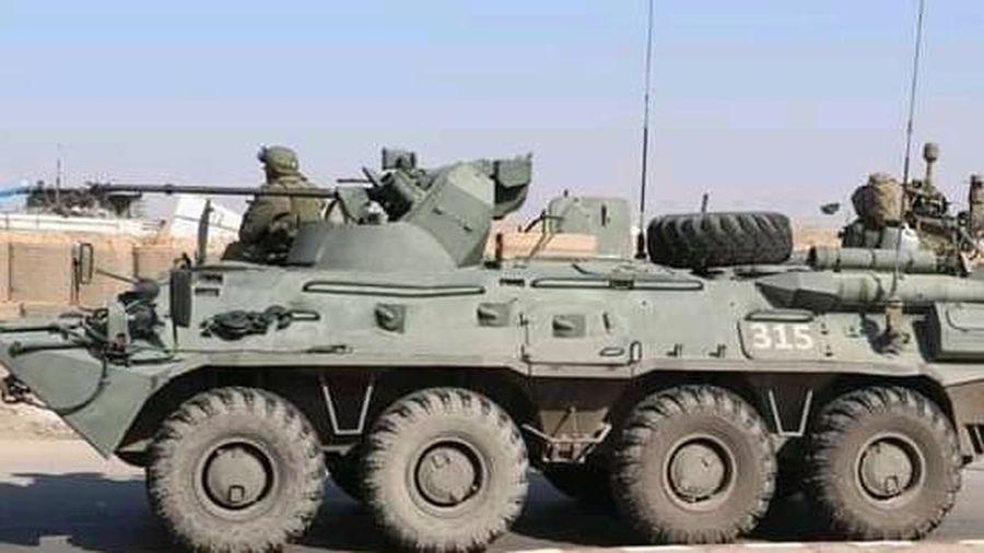 Quân Nga lần đầu tiên tiến vào thành phố Raqqa (Syria)