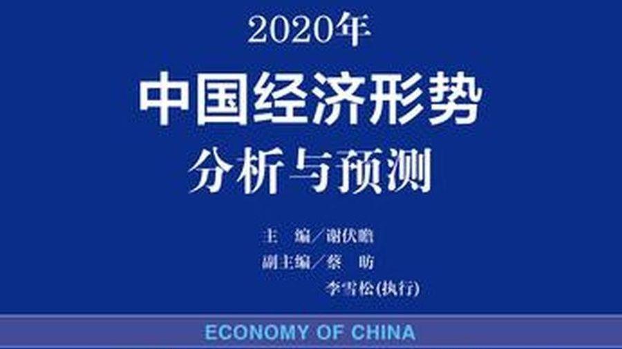 Sách xanh kinh tế dự báo Trung Quốc tăng trưởng khoảng 6% năm 2020