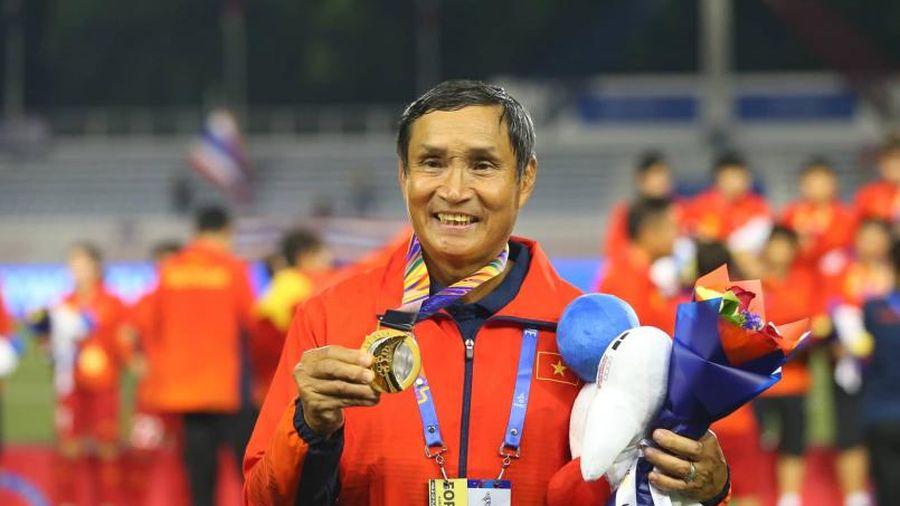 HLV Mai Đức Chung: 'Mong U22 Việt Nam nối bước tuyển nữ, giành HCV SEA Games'