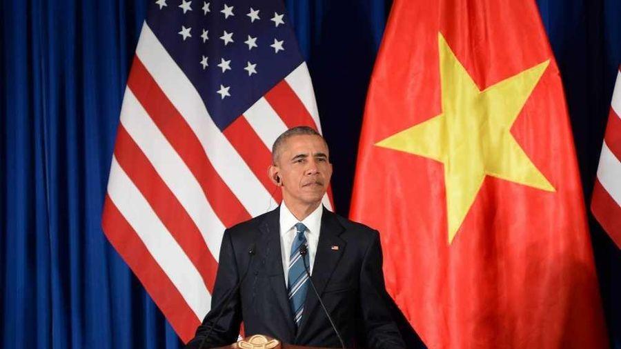 Cựu Tổng thống Mỹ Obama đến thăm trụ sở Thành ủy TP.HCM