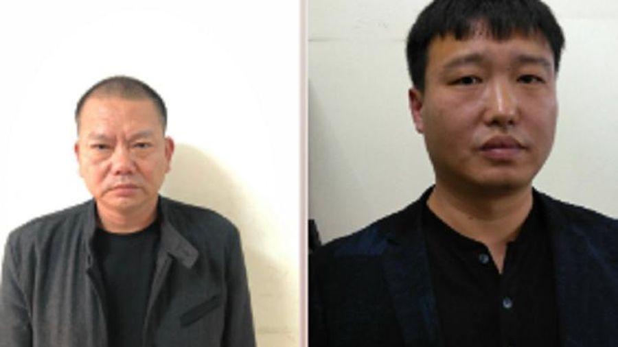 Bắt giữ hai nghi phạm bị Công an Trung Quốc truy nã lẩn trốn tại Hải Phòng