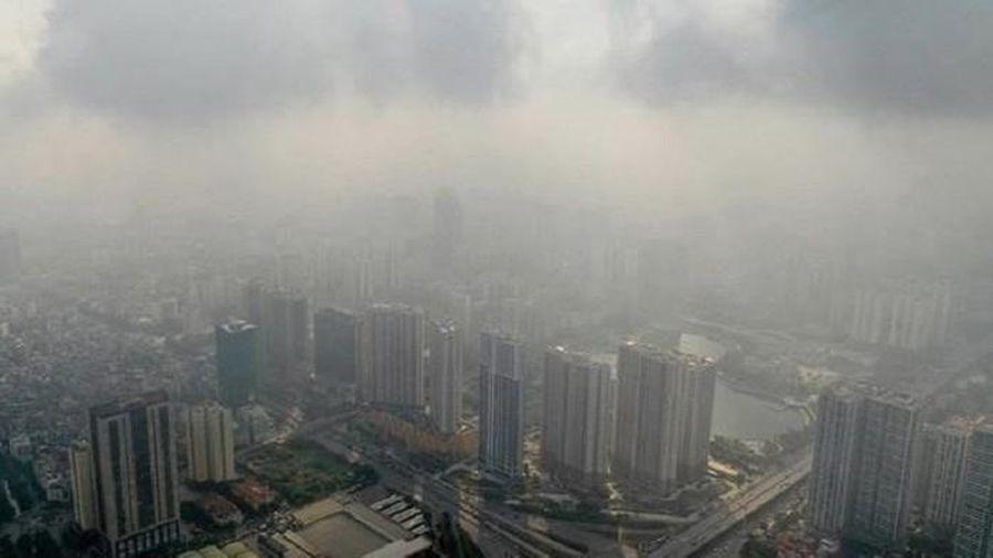 Sau gió mùa, không khí Hà Nội 'bẩn' trở lại