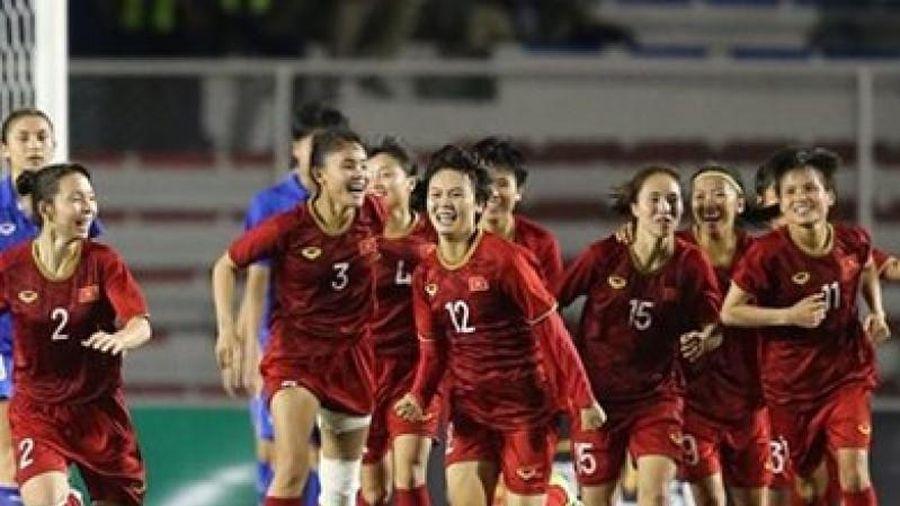 Tập đoàn Hưng Thịnh thưởng nóng 1tỷ đồng cho tuyển bóng đá nữ Việt Nam