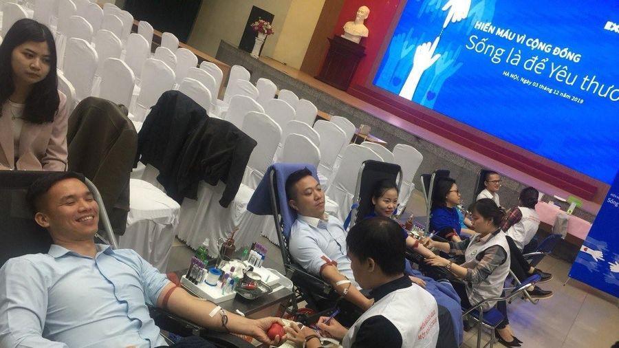 Eximbank tổ chức ngày hội hiến máu vì cộng đồng 2019