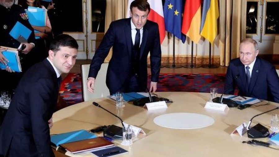 Lần đầu gặp gỡ Nga - Ukraine chưa thể đột phá xung đột miền Đông
