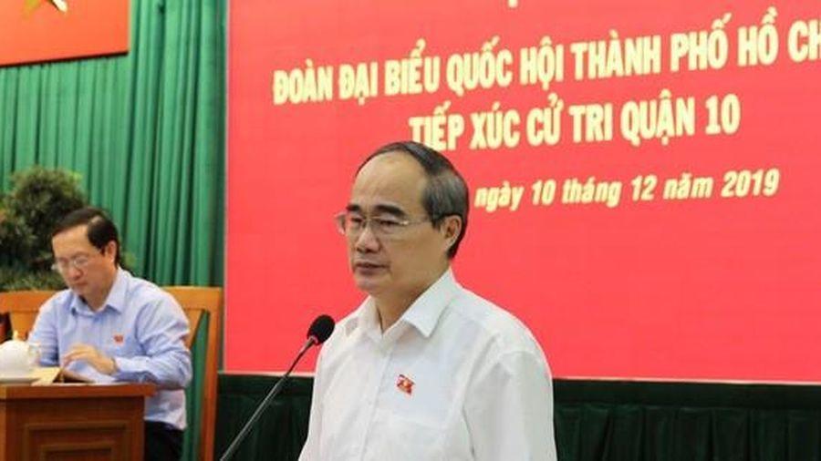 Bí thư Thành ủy Nguyễn Thiện Nhân: Kiên quyết, kiên trì phòng chống tham nhũng