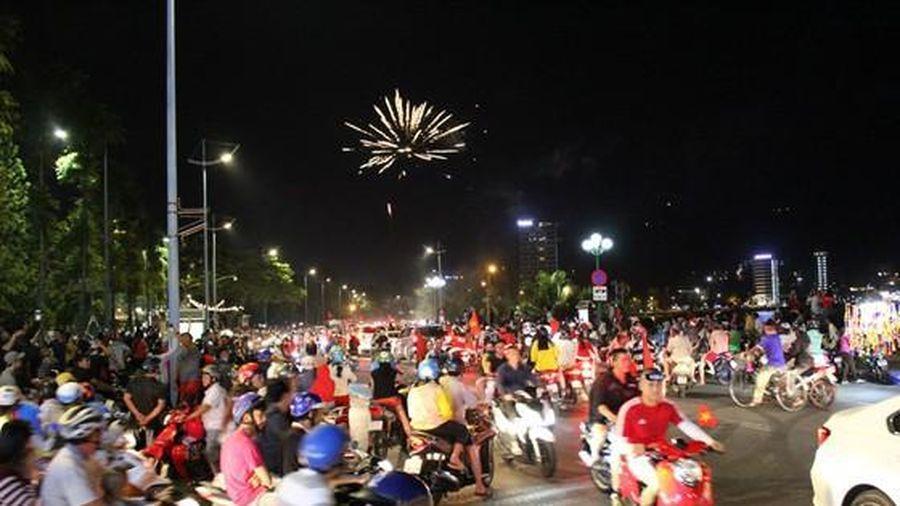 Đảm bảo an toàn giao thông mừng vô địch bóng đá nam SEA games 30