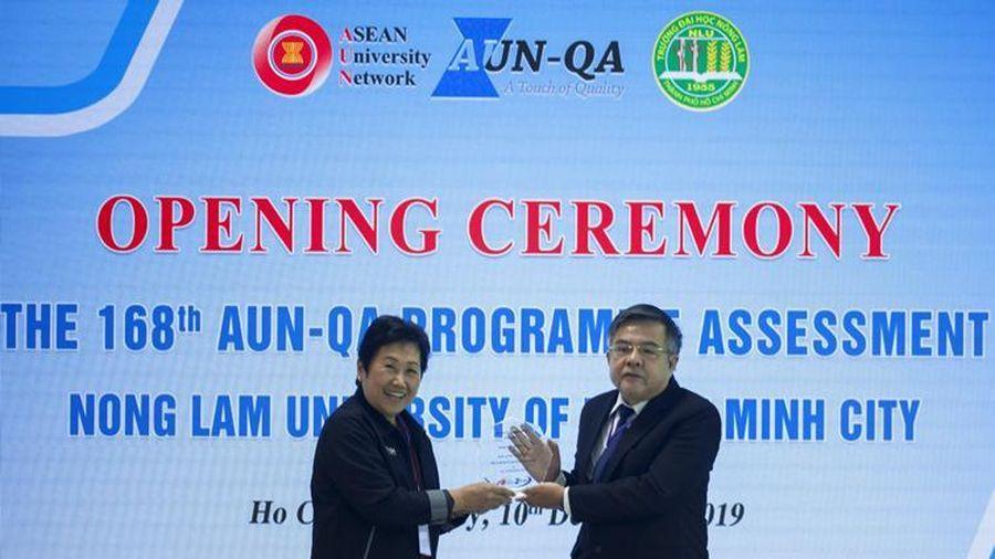 Trường ĐH Nông Lâm TP.HCM thực hiện đánh giá ngoài AUN-QA 4 chương trình