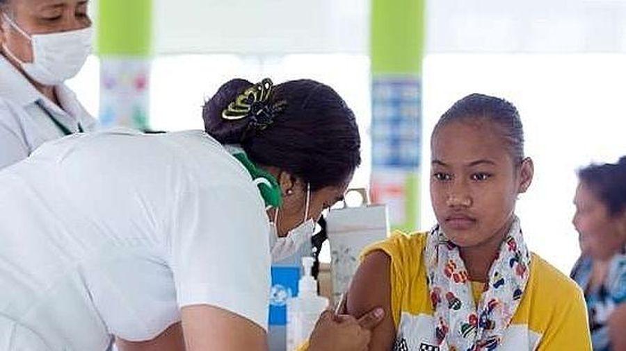 Samoa tê liệt vì dịch sởi