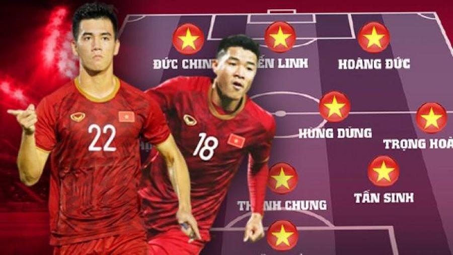 Đội hình ra sân dự kiến, danh sách cầu thủ của 2 đội U22 Việt Nam vs U22 Indonesia