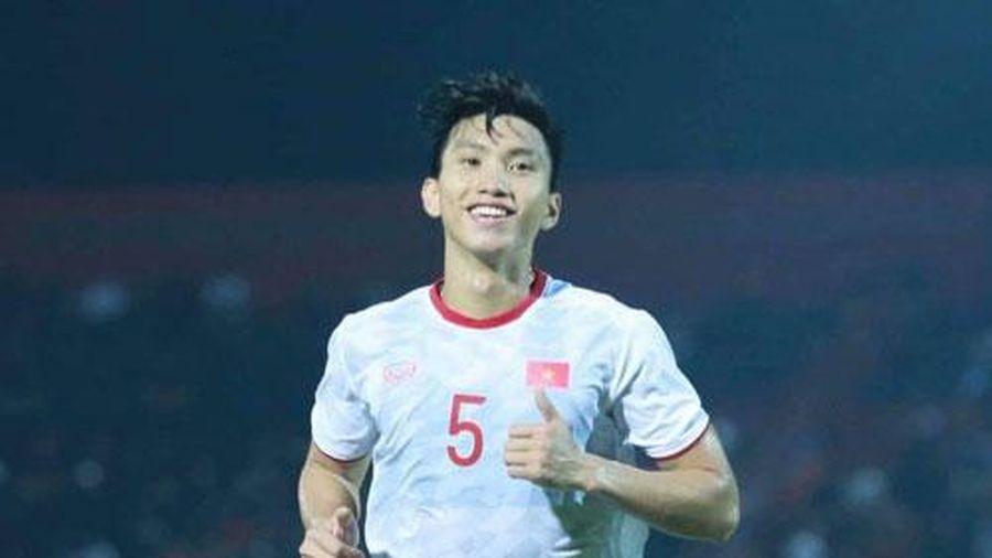 CLIP: Văn Hậu đánh đầu tung lưới U22 Indonesia, mở tỷ số cho U22 Việt nam