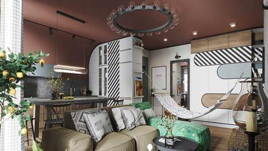 Vẻ đẹp khác lạ của căn chung cư có cách trang trí 'không giống ai'