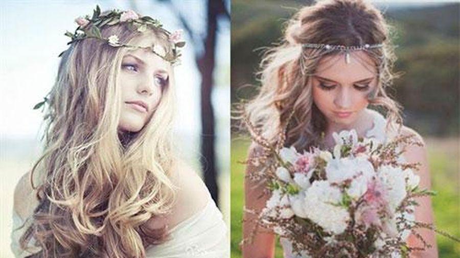Loạt kiểu tóc siêu xinh cho cô dâu trong ngày cưới
