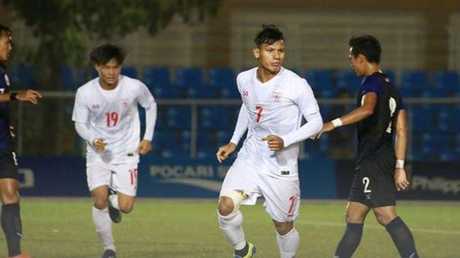 U22 Myanmar giành huy chương Đồng SEA GAmes 30