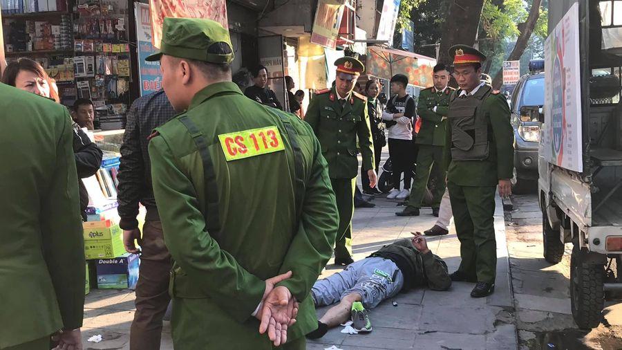 Công an điều tra vụ nổ súng tại Hà Nội