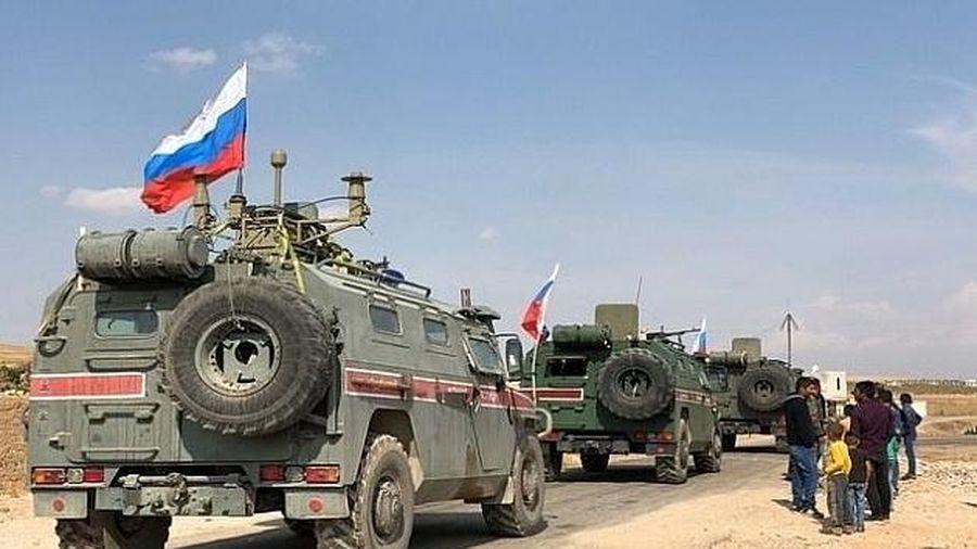 Quân đội Mỹ ngăn cản cuộc tuần tra của lực lượng Nga tại Syria