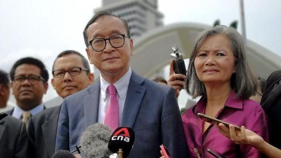 Nhóm cựu thủ lĩnh đảng đối lập Campuchia của ông Sam Rainsy lập đảng chính trị mới