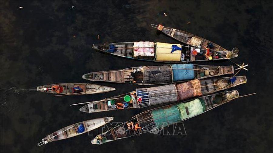 Chợ nổi Ngư Mỹ Thạnh - nét đẹp xứ Huế