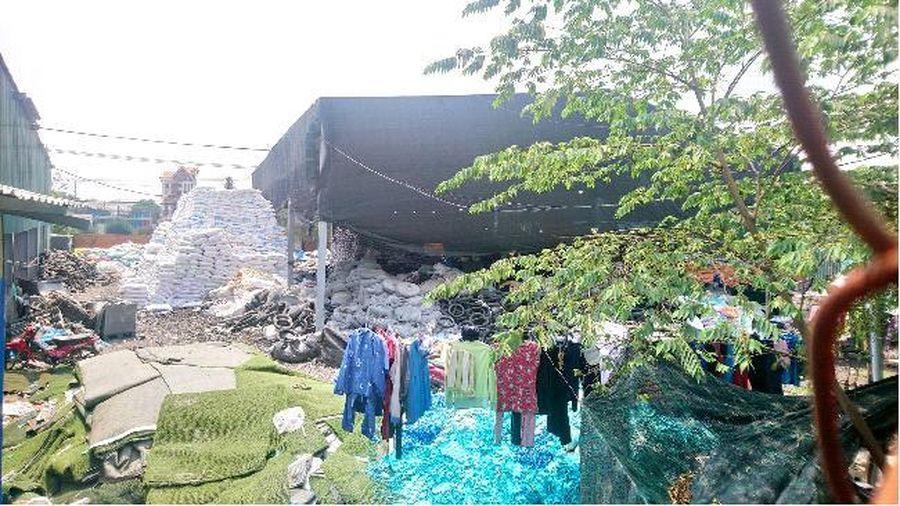 Biên Hòa - Đồng Nai: Người dân khổ sở vì xưởng tái chế cao su 'lọt' trong khu dân cư
